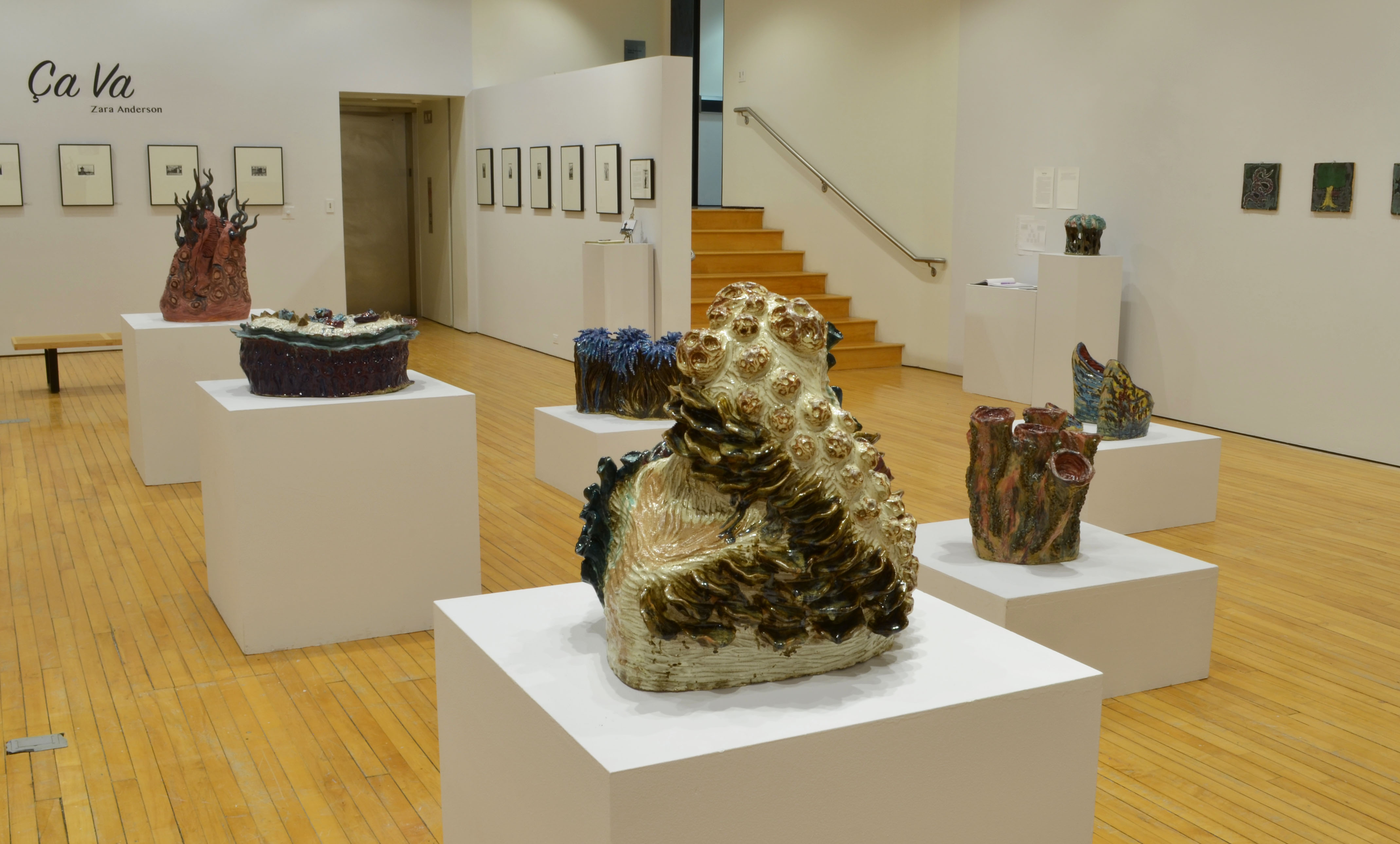 Installation shot of the gallery as a whole.